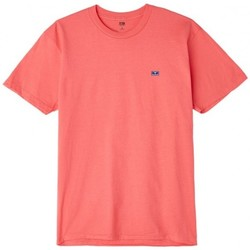 Vêtements Homme T-shirts manches courtes Obey T-Shirt  Flashback - Dusty Coral Or