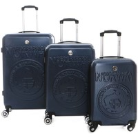 Sacs Valises Rigides Geographical Norway Set de 3 valises Stanislas Marine