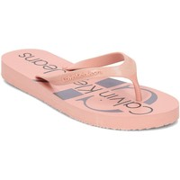 Calvin Klein Jeans R8948 Rose - Chaussures Tongs Femme