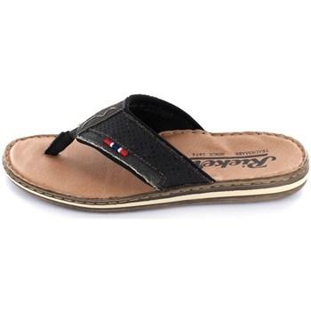 Chaussures Homme Tongs Rieker 2108400 Noir
