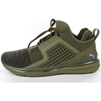 Chaussures Homme Baskets basses Puma Ignite Limitless Olive