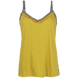 Vêtements Femme T-shirts & Polos Protest TOP  FLAWLESS MUJER AMARILLO AMARILLO