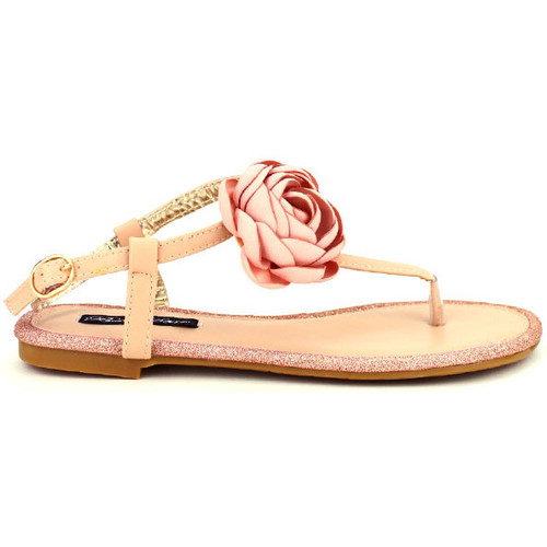 Chaussures Femme Sandales et Nu-pieds Cendriyon Tongs Rose Chaussures Femme Rose