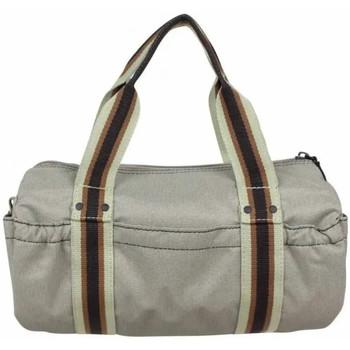 Sacs Femme Sacs porté main Duolynx Petit sac à main bowling toile souple  S Gris