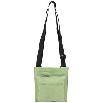 Sacs Femme Sacs Bandoulière Duolynx Pochette bandoulière toile nylon ultra plat  vert Vert