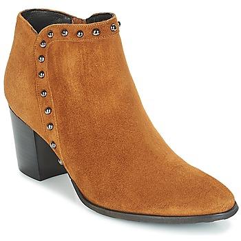 Chaussures Femme Bottines Myma POUTZ CAMEL