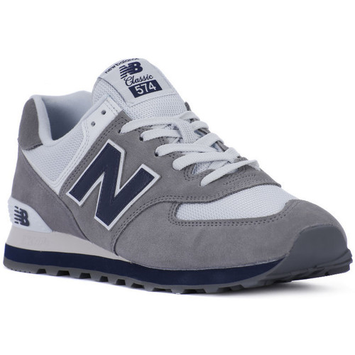 New Balance M574ESD Grigio - Chaussures Baskets basses Homme