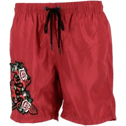 Vêtements Homme Maillots / Shorts de bain Hite Couture Zanier red short bain Rouge