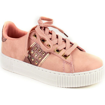 Chaussures Femme Baskets basses Cendriyon Baskets Rose Chaussures Femme Rose