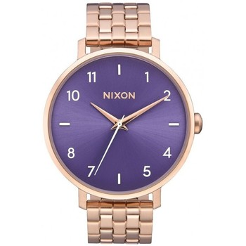 Montres & Bijoux Femme Montre Nixon Montre  Arrow - Rose Gold / Purple Rose