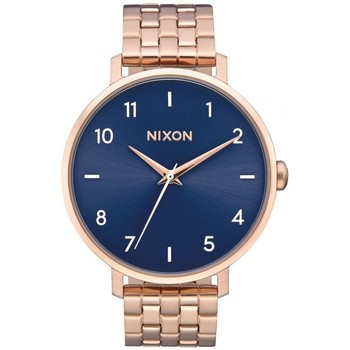 Montres & Bijoux Femme Montre Nixon Montre  Arrow - Rose Gold / Steel Blue Rose