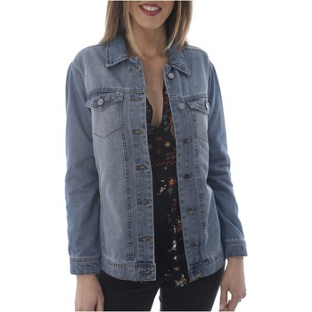 Vêtements Femme Vestes Jacqueline De Yong Veste Denim Vintage Ashley  - Only les BLEUS