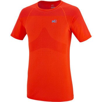 Vêtements Homme T-shirts manches courtes Millet LTK SEAMLESS TS SS ORANGE Orange