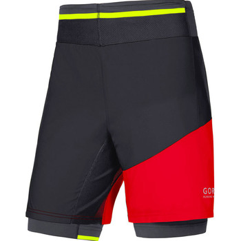 Vêtements Homme Shorts / Bermudas Gore FUSION 2in1 Noir Rouge