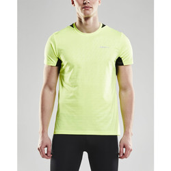 Vêtements Homme T-shirts manches courtes Craft Breakaway t-shirt one homme Jaune
