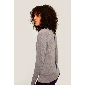 Vêtements Femme Polaires Lolë CARDIGAN ESSENTIAL UP Gris