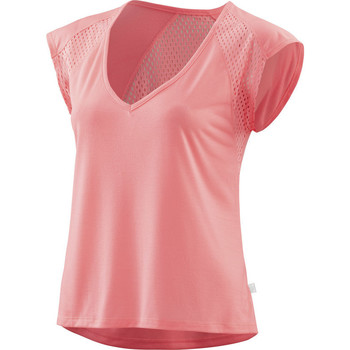 Vêtements Femme T-shirts manches courtes Skins Activewear Odot Womens T-Shirt Fluro Peach Rose