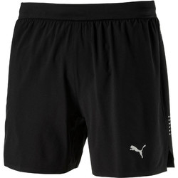 Vêtements Homme Shorts / Bermudas Puma PR SPEED 5SHORT.BLACK Noir