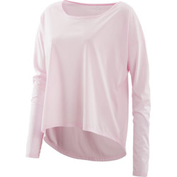 Vêtements Femme T-shirts manches longues Skins Activewear Pixel Womens Long Sleeve Tee Champagne/Marle Jaune