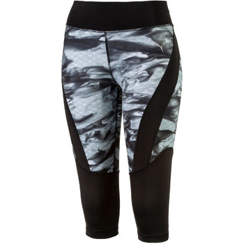 Vêtements Femme Leggings Puma W PR GRAPHIC 3/4 TIGHT .B Noir gris