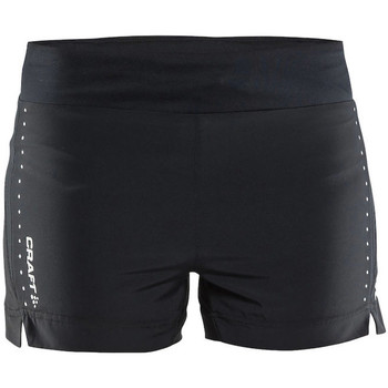 Vêtements Femme Shorts / Bermudas Craft Craft3drun essential 5 shorts dame Noir
