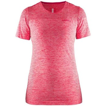 Vêtements Femme T-shirts manches courtes Craft core seamless Rose