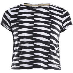 Vêtements Femme T-shirts manches courtes Craft Breakaway t-shirt court dame Gris
