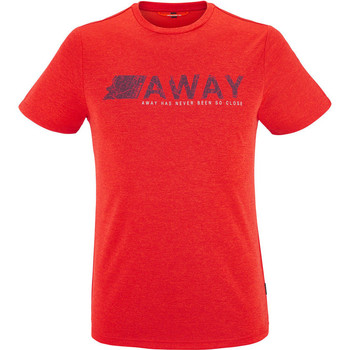 Vêtements Homme T-shirts manches courtes Lafuma SHIFT TEE VIBRANT RED Rouge
