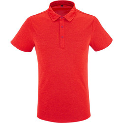 Vêtements Homme Polos manches courtes Lafuma SHIFT POLO VIBRANT RED Rouge