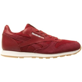 Chaussures Enfant Ville basse Reebok Sport CL Leather Estl Rouge