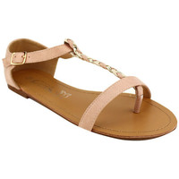 Chaussures Femme Tongs Cendriyon Tongs Rose Chaussures Femme, Rose
