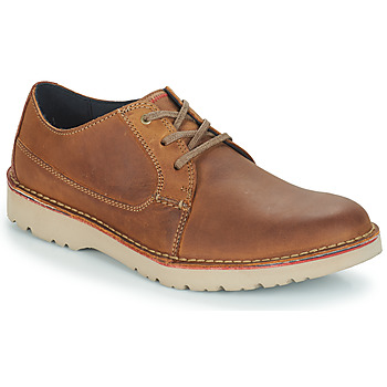 Chaussures Homme Derbies Clarks VARGO PLAIN BROWN