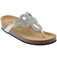 Chaussures Femme Sandales et Nu-pieds Riposella 19644 ARGENTO Sandales