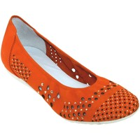 Chaussures Femme Ballerines / babies Sabrinas London 41101 Orange nubuck