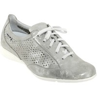 Chaussures Femme Baskets basses Mephisto Val perf Gris cuir