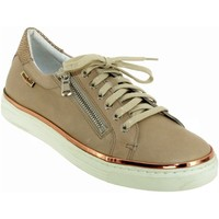 Chaussures Femme Baskets basses Mobils By Mephisto Elorine Beige cuir