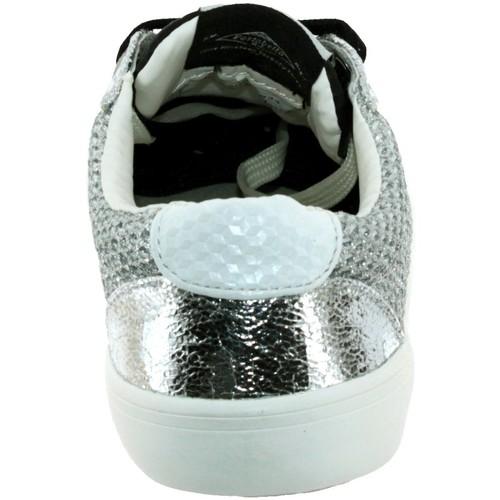 Pls30655  Pepe jeans  baskets basses  femme  noir/argent