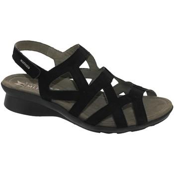 Chaussures Femme Sandales et Nu-pieds Mephisto Pamela Noir nubuck