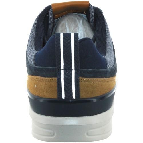 Pms30432  Pepe jeans  baskets basses  homme  marine/narron