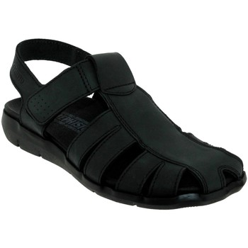 Chaussures Homme Sandales et Nu-pieds Mephisto Cesar Noir cuir