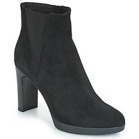 Chaussures Femme Bottines Geox D ANNYA HIGH Noir