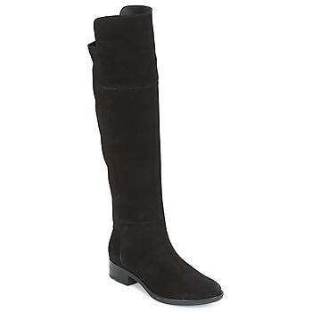 Chaussures Femme Cuissardes Geox D FELICITY Noir