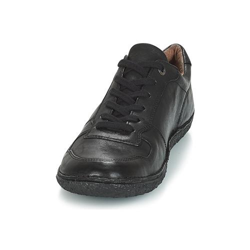 Home Kickers Noir Femme Derbies Chaussures kONZ80XnwP