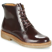 Chaussures Femme Boots Kickers OXIGENO Bordeaux