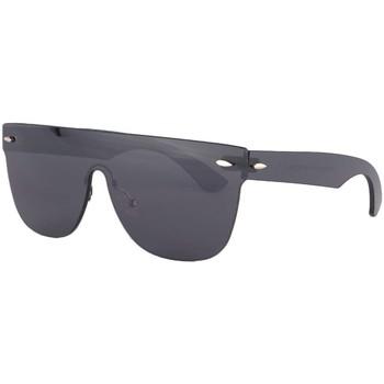 Montres & Bijoux Homme Lunettes de soleil Soleyl Masque lunettes de soleil noires Fashion Krost Noir