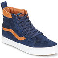Chaussures Baskets montantes Vans Sk8-hi (MTE) suede/dress blues