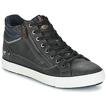 Chaussures Homme Baskets montantes Mustang AIYANNA Gris foncé