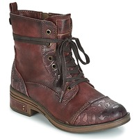 Chaussures Femme Boots Mustang KWANITA Bordeaux