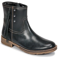 Chaussures Fille Bottes ville Kickers MOLLY Noir
