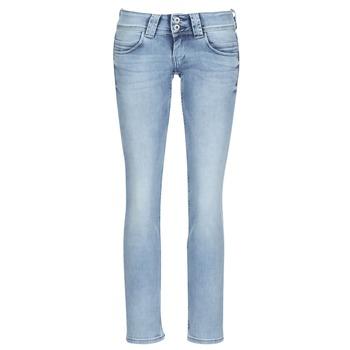 Vêtements Femme Jeans droit Pepe jeans VENUS Bleu Clair